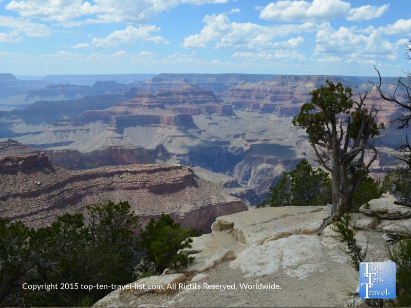 Beautiful views at The Grand Canyon South Rim