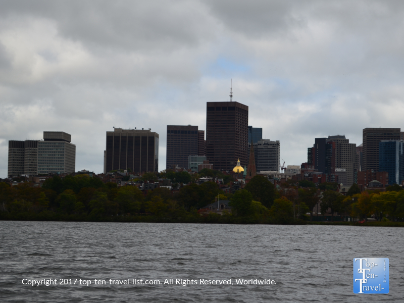 Pretty views of Boston from the Charles River