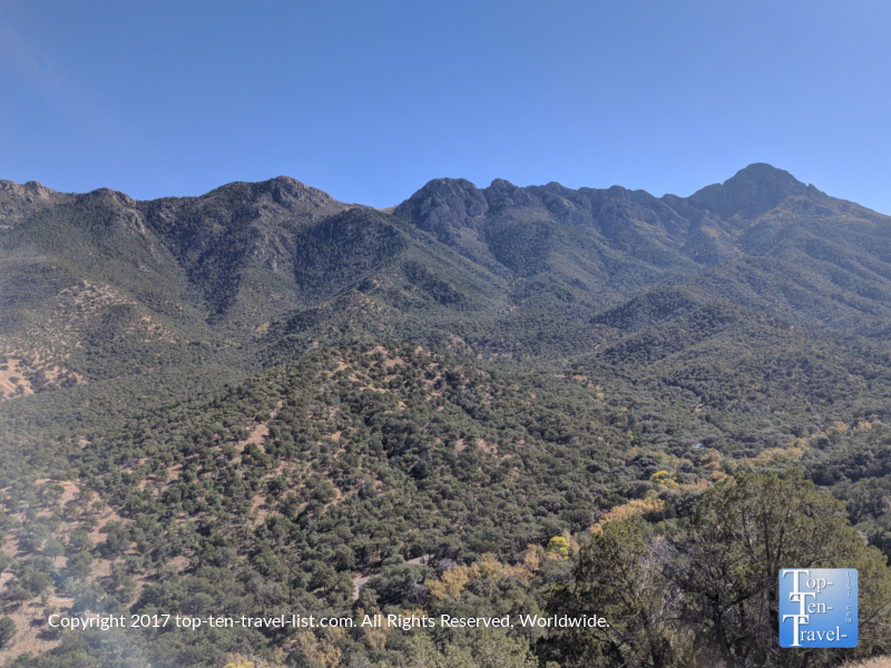 Scenic mountain views at Madera Canyon in Arizona