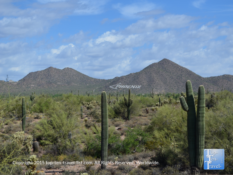 Great views at Usery Mountain Regional Park in Mesa, Arizona