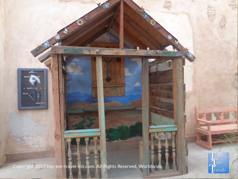Church of the Mother Road in Winslow, Arizona - the smallest church in the US