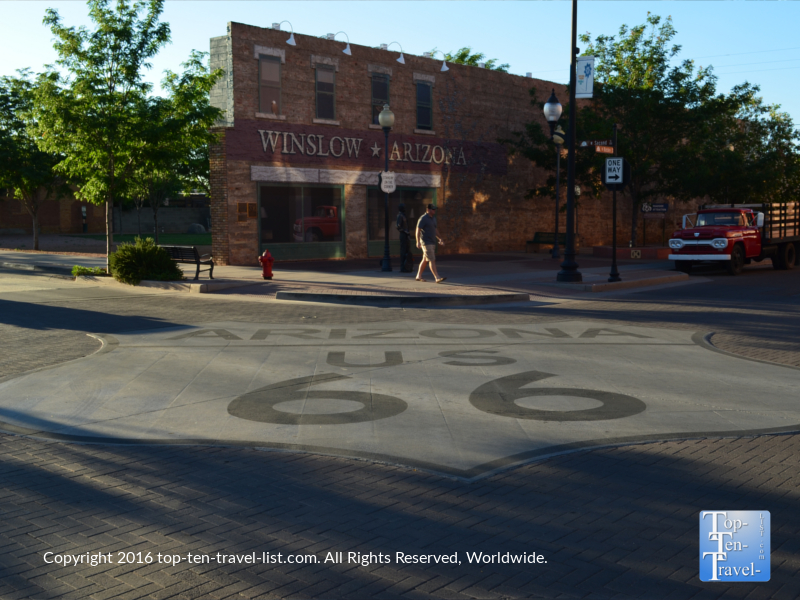 Route 66 in Winslow, Arizona