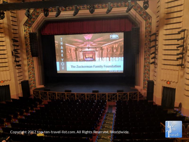 The beautiful Fox Theater in downtown Tucson, Arizona