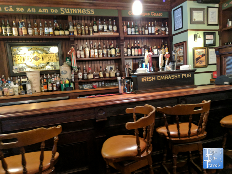 Irish Embassy Pub in downtown Durango, Colorado