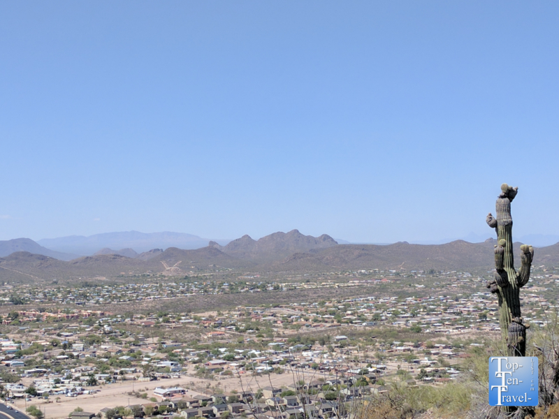Views from A Mountain in Tucson, Arizona