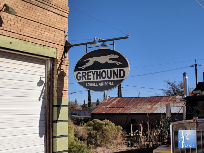 Abandoned Greyhound Station in Lowell, Arizona