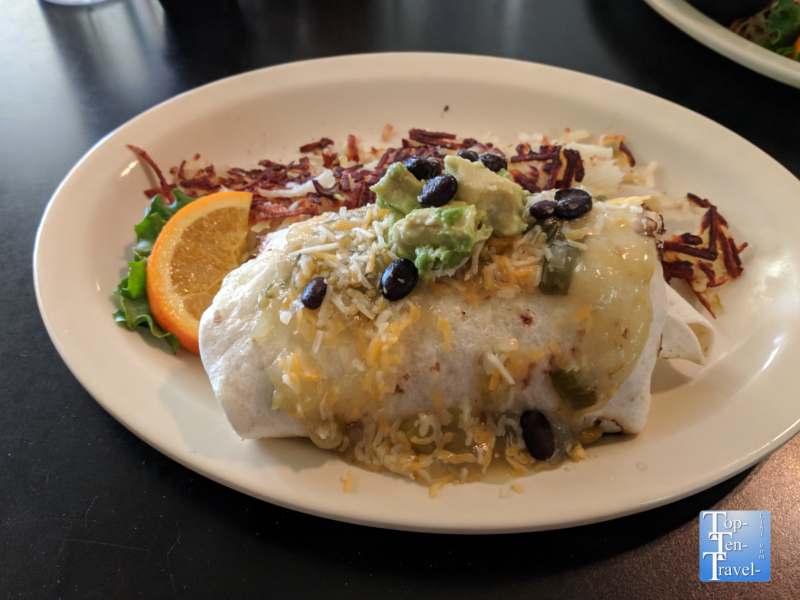 Breakfast Burrito at Bisbee Breakfast Club