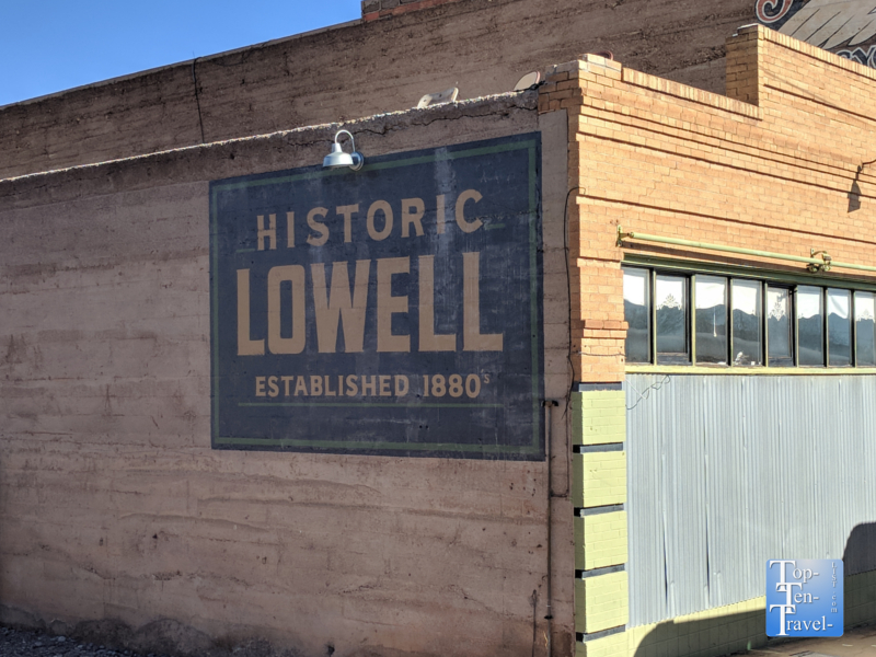 Historic Lowell, Arizona - a ghost town near Bisbee