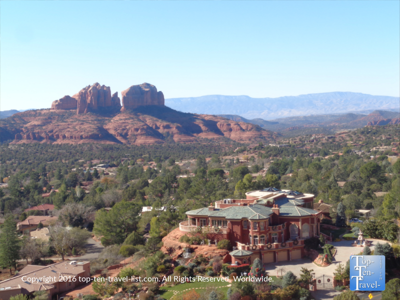 Amazing views from the Chapel of the Holy Cross in Sedona, Arizona