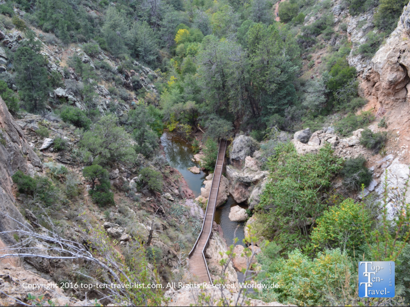 Views from the Gowan trail at Tonto Natural Bridge State Park near Payson, Arizona