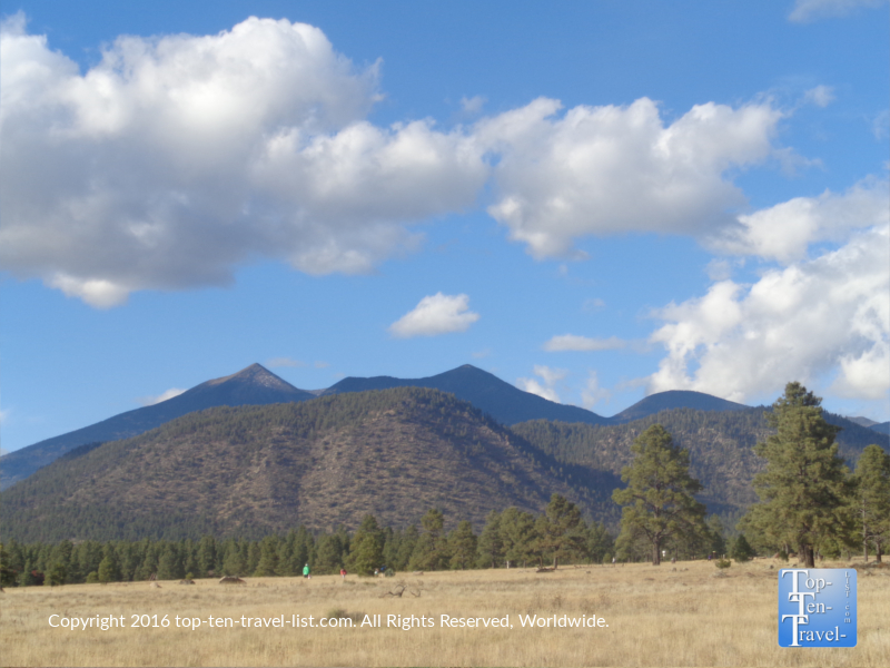 Serene mountain views at Buffalo Park in Flagstaff, Arizona