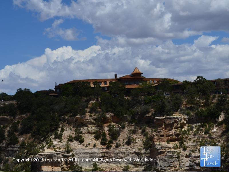The historic El Tovar hotel at the Grand Canyon South Rim