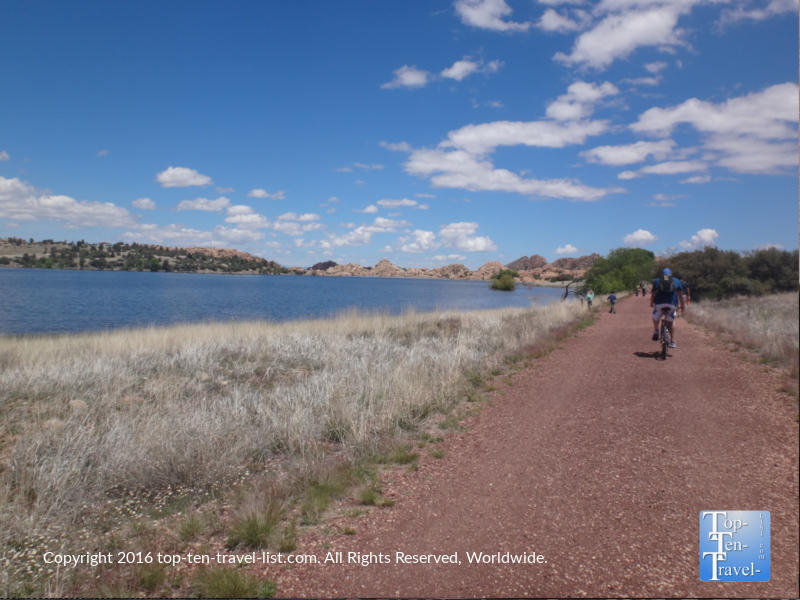 Biking the Peavine National Recreation Trail in Prescott, Arizona