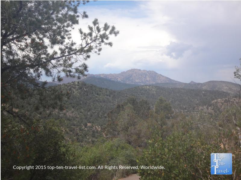 Gorgeous views along the Thumb Butte trail in Prescott, Arizona