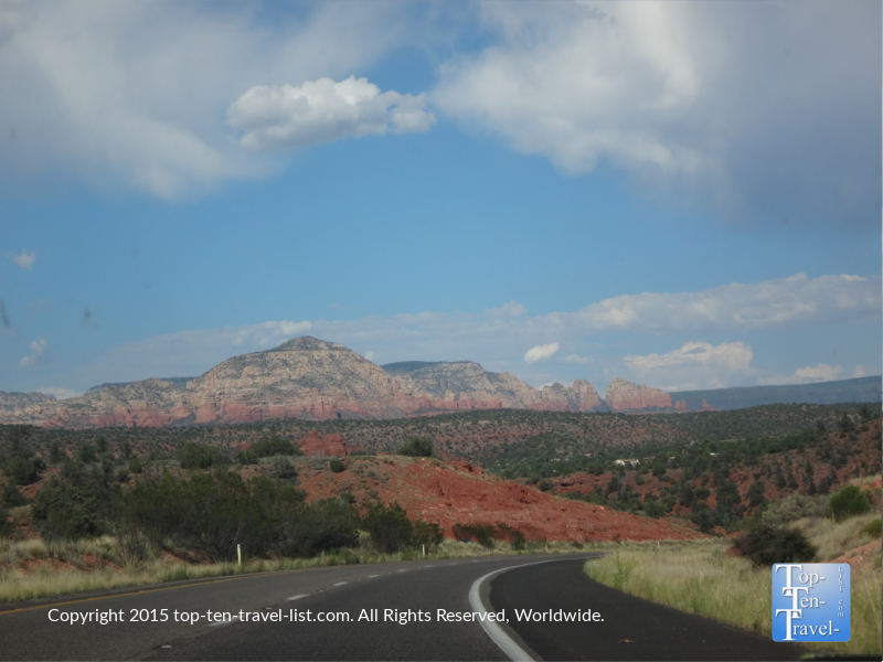 Gorgeous scenery right outside of Sedona, Arizona in the Verde Valley
