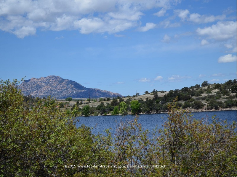 Scenic Watson Lake in Prescott, Arizona