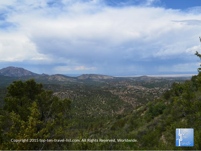 Thumb Butte trail in Prescott, Arizona