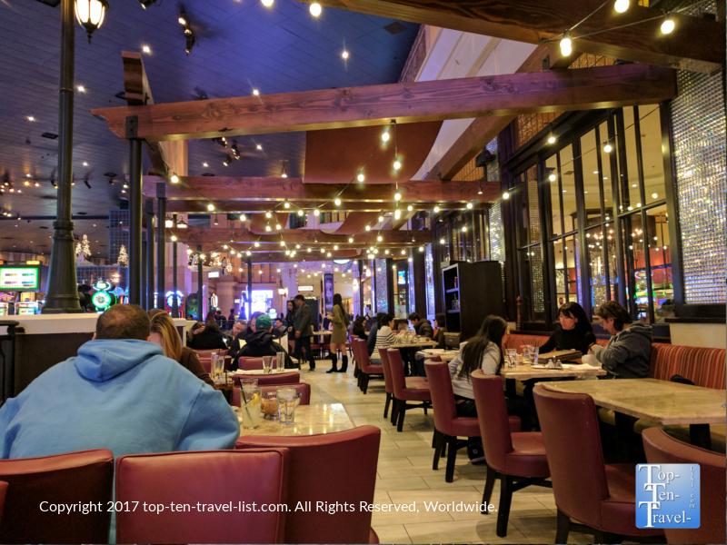 Il Fornaio Italian restaurant in the New York, New York casino