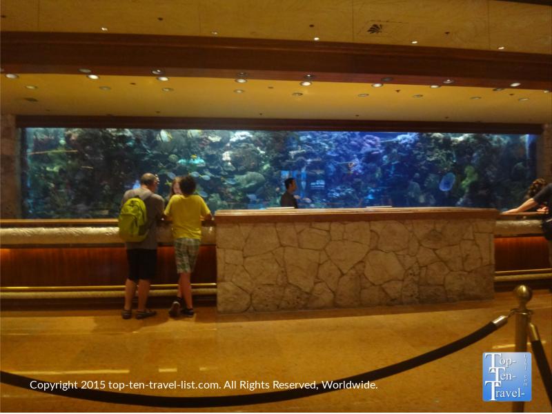 The Mirage Aquarium in Las Vegas, Nevada