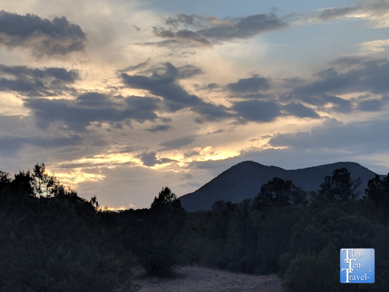 A beautiful sunset in Silver City, NM