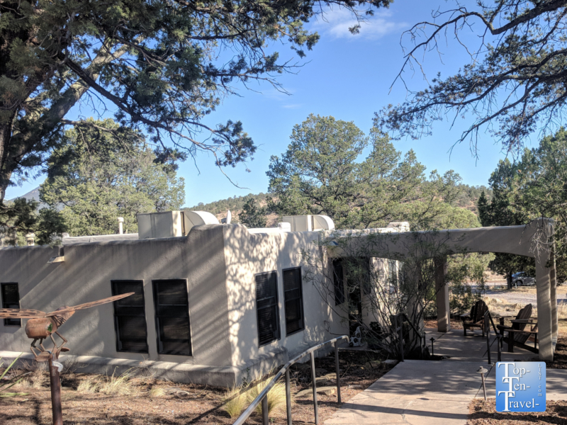Myra's retreat at the Bear Mountain Lodge in Silver City, New Mexico
