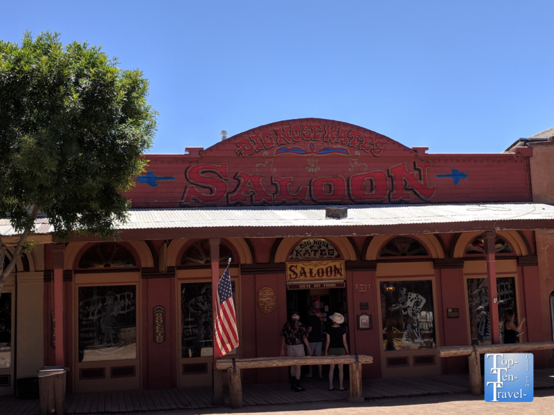 Big Nose Kate's Saloon in Tombstone, Arizona