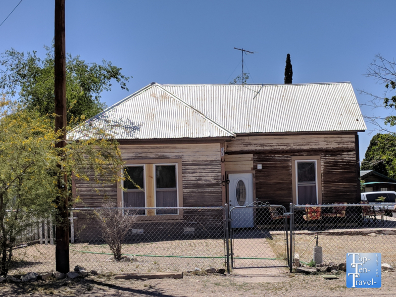 Doc Holliday house in Tombstone, Arizona