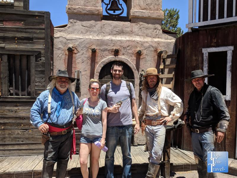 Gunfight show in Tombstone, Arizona