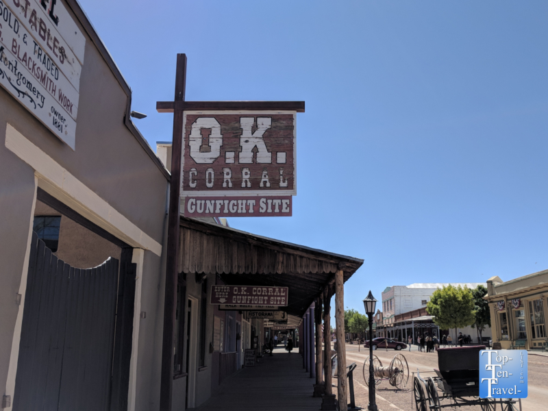 OK Corral in Tombstone, Arizona
