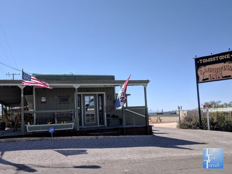 Sagebrush Inn - where John Wayne stayed in Tombstone, Arizona