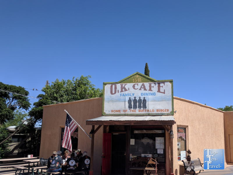 OK Cafe in Tombstone, Arizona