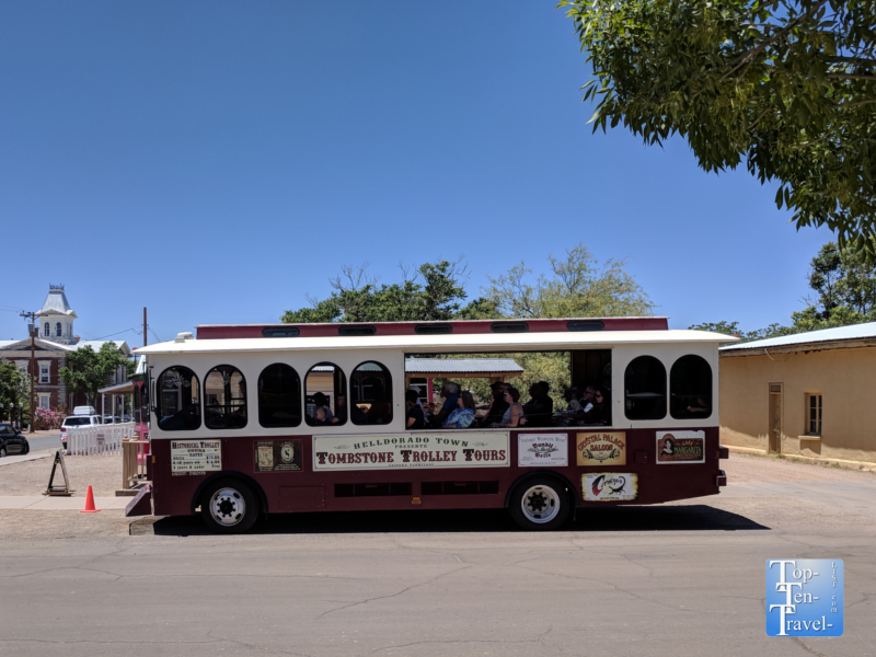 Tombstone, Arizona trolley tour