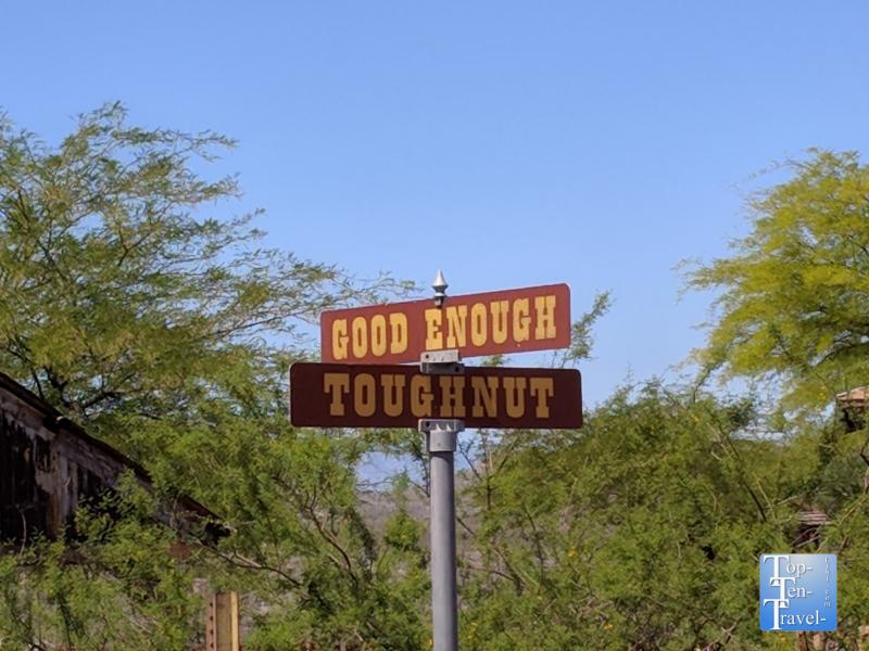 Toughnut Street in Tombstone, Arizona