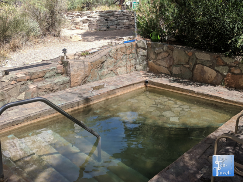 Faywood Hot Springs in New Mexico