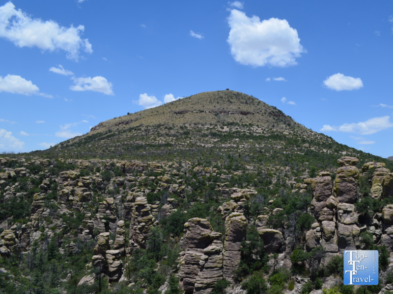 Gorgeous views along the Echo Canyon Grotto trail at Chiricahua National Monument in Southern Arizona