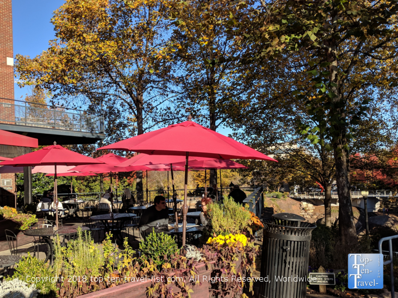Paserelle French bistro in downtown Greenville, South Carolina