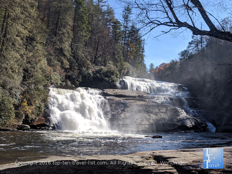 Triple Falls at Dupont State Forest in North Carolina