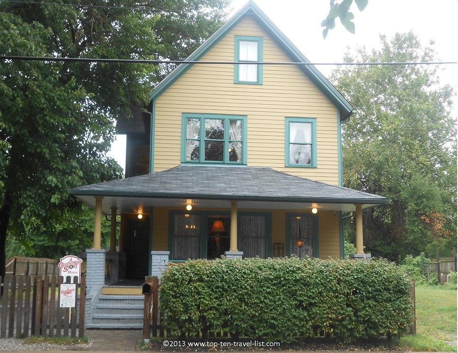 Ralphie's house from A Christmas Story in Cleveland, Ohio