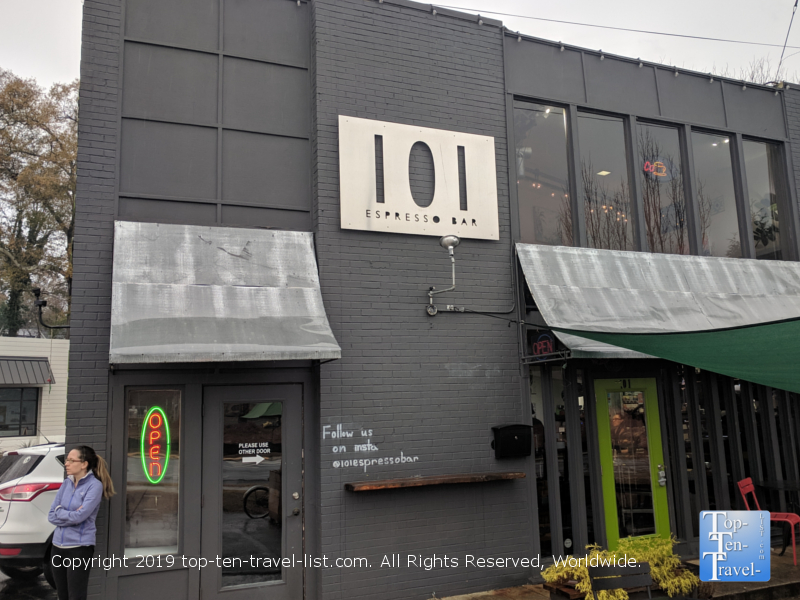 101 Espresso Bar in Greenville, South Carolina
