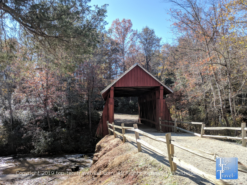 Campbells Covered Bridge near Greenville, South Carolina