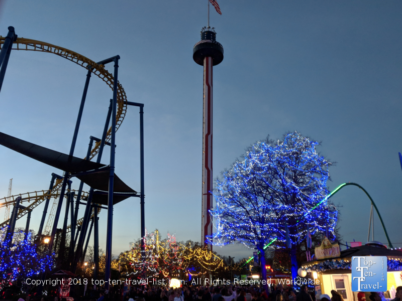 Skytower ride at Carowinds in North Carolina