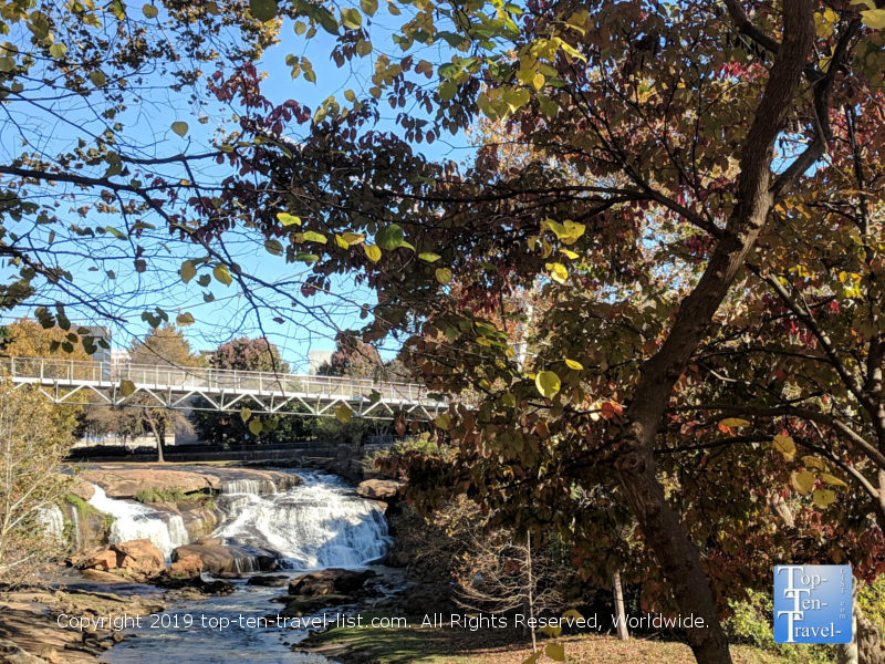 Falls Park in downtown Greenville, South Carolina