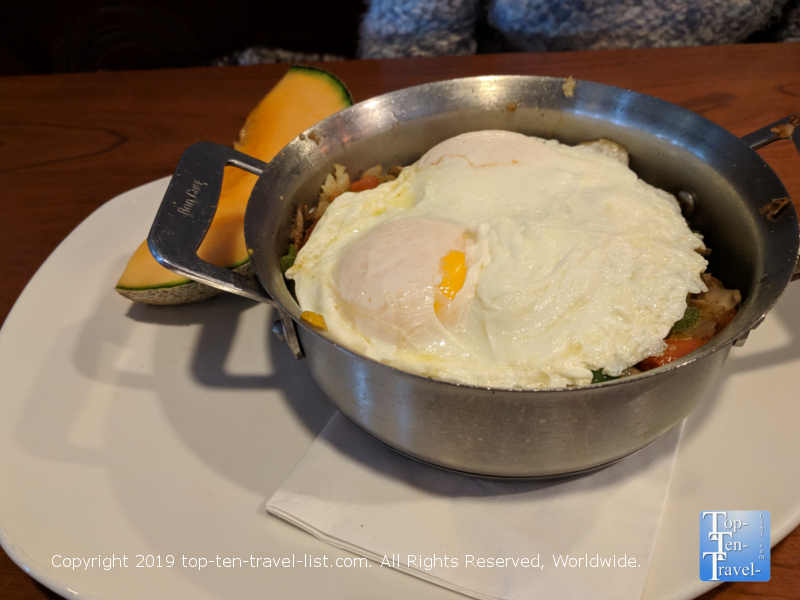 Market skillet at Stax Omega Diner in Greenville, South Carolina