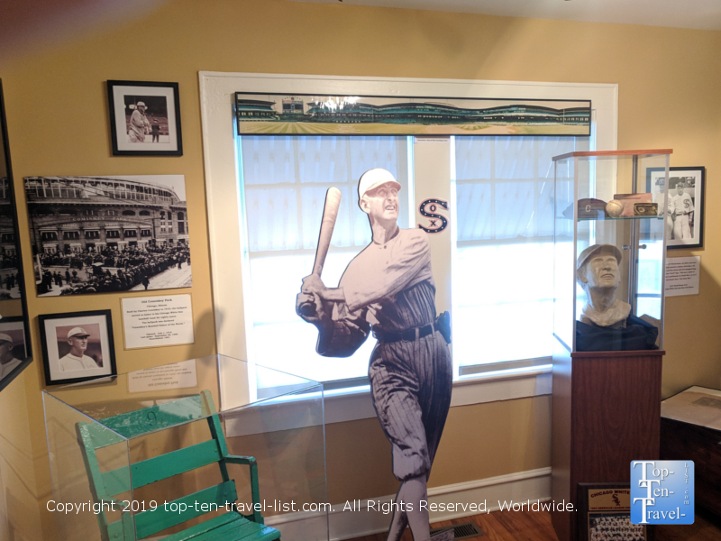 Shoeless Joe Jackson museum in Greenville, South Carolina