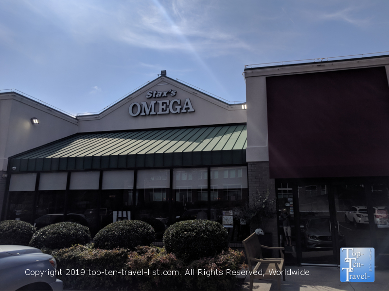 Stax Omega diner in Greenville, South Carolina