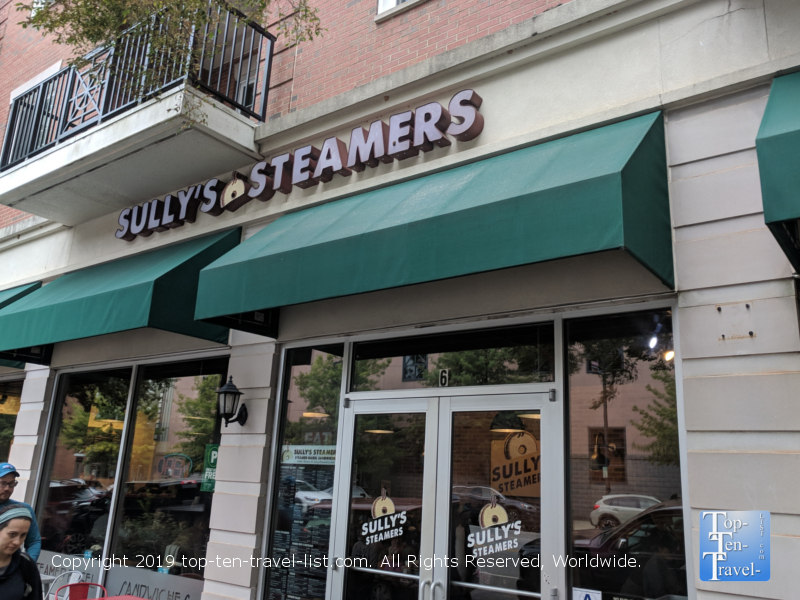 Sully's Steamers in Greenville, South Carolina