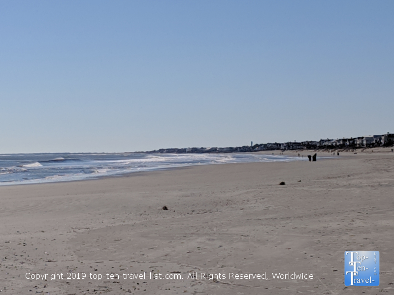Isle of Palms beach in South Carolina