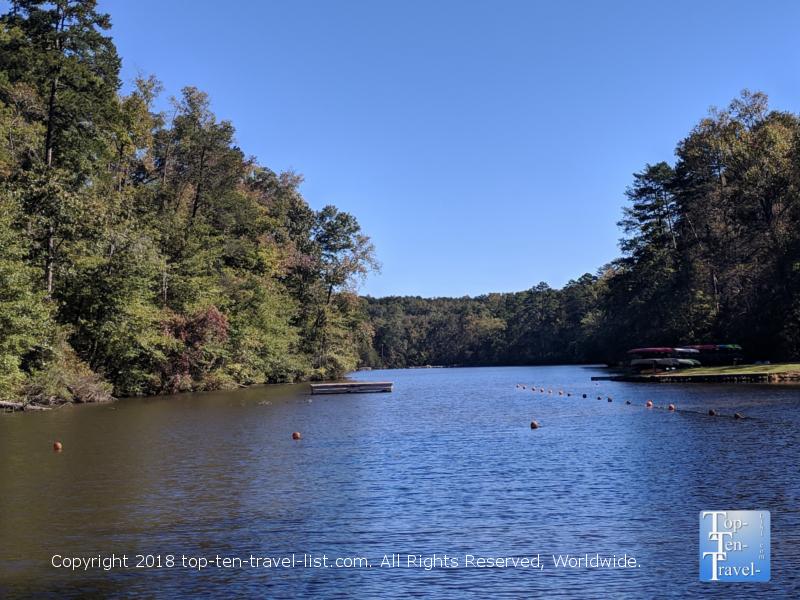 Lake Placid at Paris Mountain State Park