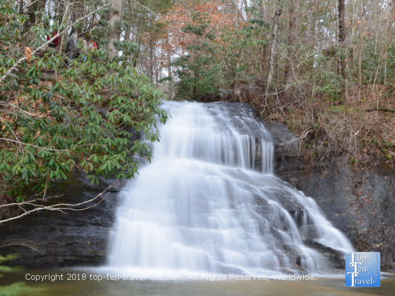 Wildcat Branch falls in Cleveland, South Carolina