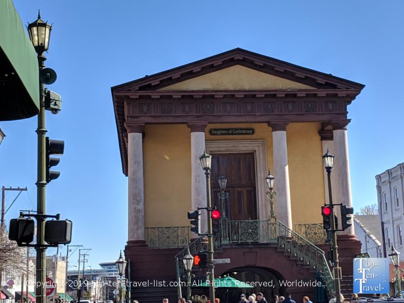 The historic Charleston SC City Market